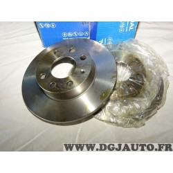 Paire disques de frein avant plein 236mm diametre Requal RDP150 pour opel corsa A kadett D E
