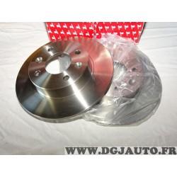 Paire disques de frein avant 238mm diametre plein Redtop REDD043 pour renault clio 1 express super 5 twingo