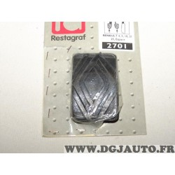 Semelle couvre pedale embrayage frein Restagraf 2701 pour renault 4 5 18 21 25 R4 R5 R18 R21 R25 espace