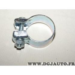 Collier serrage tuyau silencieux echappement 51.5mm diametre Walker 81987 pour fiat lancia alfa romeo renault peugeot citroen op