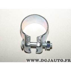 Collier serrage tuyau silencieux echappement 45.5mm diametre Walker 81983 pour fiat lancia alfa romeo renault peugeot citroen op