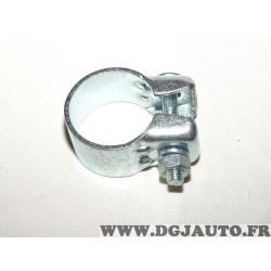 Collier serrage tuyau silencieux echappement 38.5mm diametre Walker 81980 pour fiat lancia alfa romeo renault peugeot citroen op