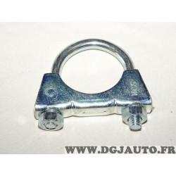 Collier serrage tuyau silencieux echappement 50mm diametre Walker 82346 pour fiat lancia alfa romeo renault peugeot citroen opel