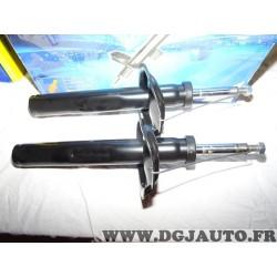 Paire amortisseurs suspension avant pression gaz Requal RSA008 pour peugeot 206 206+