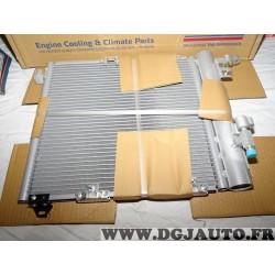 Radiateur condenseur climatisation Nissens 94385 pour opel astra G zafira A