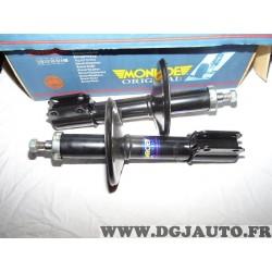 Paire amortisseurs suspension avant pression huile Monroe 11091 pour renault super 5 B40 C40 S40