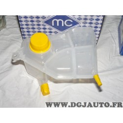 Bocal reservoir liquide de refroidissement Metalcaucho 03703 pour ford fiesta 5 V fusion 1.25 1.4 1.6 16V essence