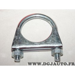 Collier serrage tuyau silencieux echappement 54mm diametre Walker 82326 pour fiat lancia alfa romeo renault peugeot citroen opel