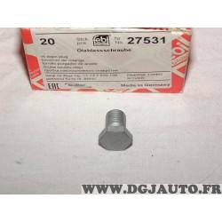 Bouchon de vidange carter huile Febi 27531 pour BMW serie 1 2 3 5 6 7 8 X1 X2 X3 X4 X5 X6 X7 Z4 E81 F20 F21 F40 E87 E88 E82 F45