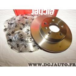 Paire disques de frein arriere 264mm diametre plein Eicher 104720089 pour opel astra G H combo 3 III corsa C meriva A B zafira A