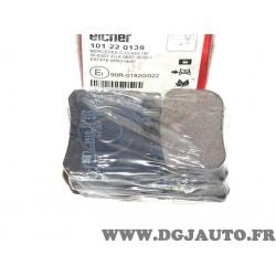Jeux 4 plaquettes de frein arriere montage teves Eicher 101220139 pour mercedes 190 W201 classe C E S CLK SL SLK W202 W124 W210