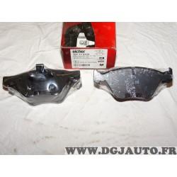 Jeux 4 plaquettes de frein avant montage teves Eicher 101110439 pour BMW serie 1 3 5 X1 Z4 E81 E82 E87 E88 E90 E91 E92 E93 E60 E