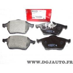 Jeux 4 plaquettes de frein avant montage teves Eicher 101440449 pour ford galaxy seat alhambra volkswagen sharan