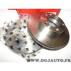 Paire disques de frein avant 305mm diametre ventilé Eicher 104745389 pour renault master 2 II opel movano A nissan interstar